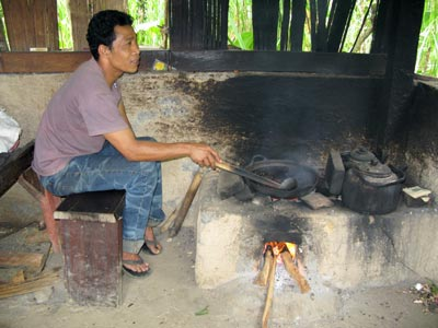 Roasting-Luwak-coffee