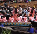 Myanmar boat overcrowding in Inle