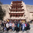 Silk Road - Dunhuang tour group