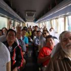 Silk Road Tour group in bus