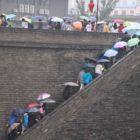 Silk Road - Xian umbrellas